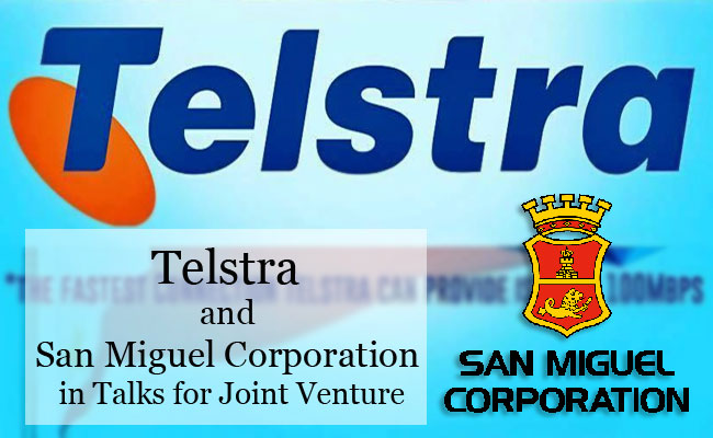 Telstra and San Miguel Corporation in Talks for Joint Venture