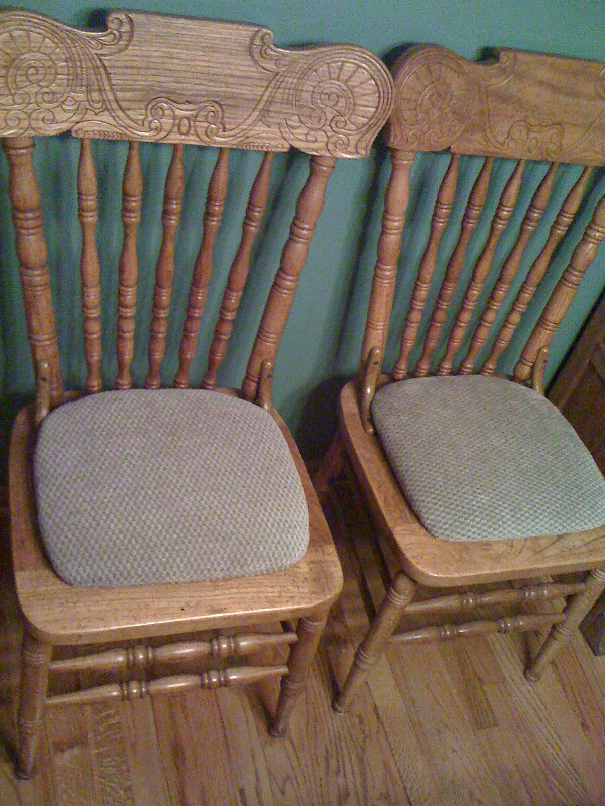 Under Asian Influence Craft Project Make Your Own Homemade Dining Chair Pads