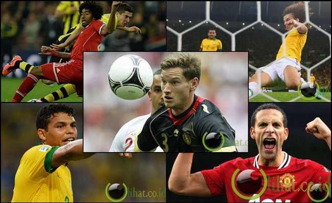 10 Pemain Bek Tengah Sepakbola Terbaik di Dunia saat Ini