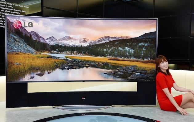 LG Rilis TV UHD 105 inci Rasio 21:09 dengan Layar Melengkung