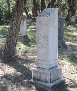 Gravestone of Joseph M. Van Pelt