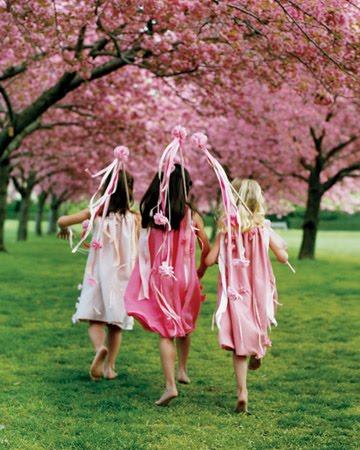 white cherry blossom wedding centerpiece ideas