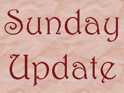 Sunday Update - 3/23