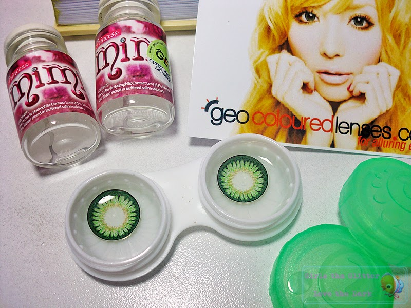 GEO Princess Mimi WMM-303 (green apple) on Blue Eyes
