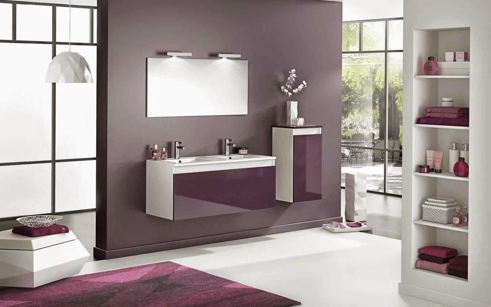 Meubles de salle de bain meuble d coration maison for But meuble salle de bain