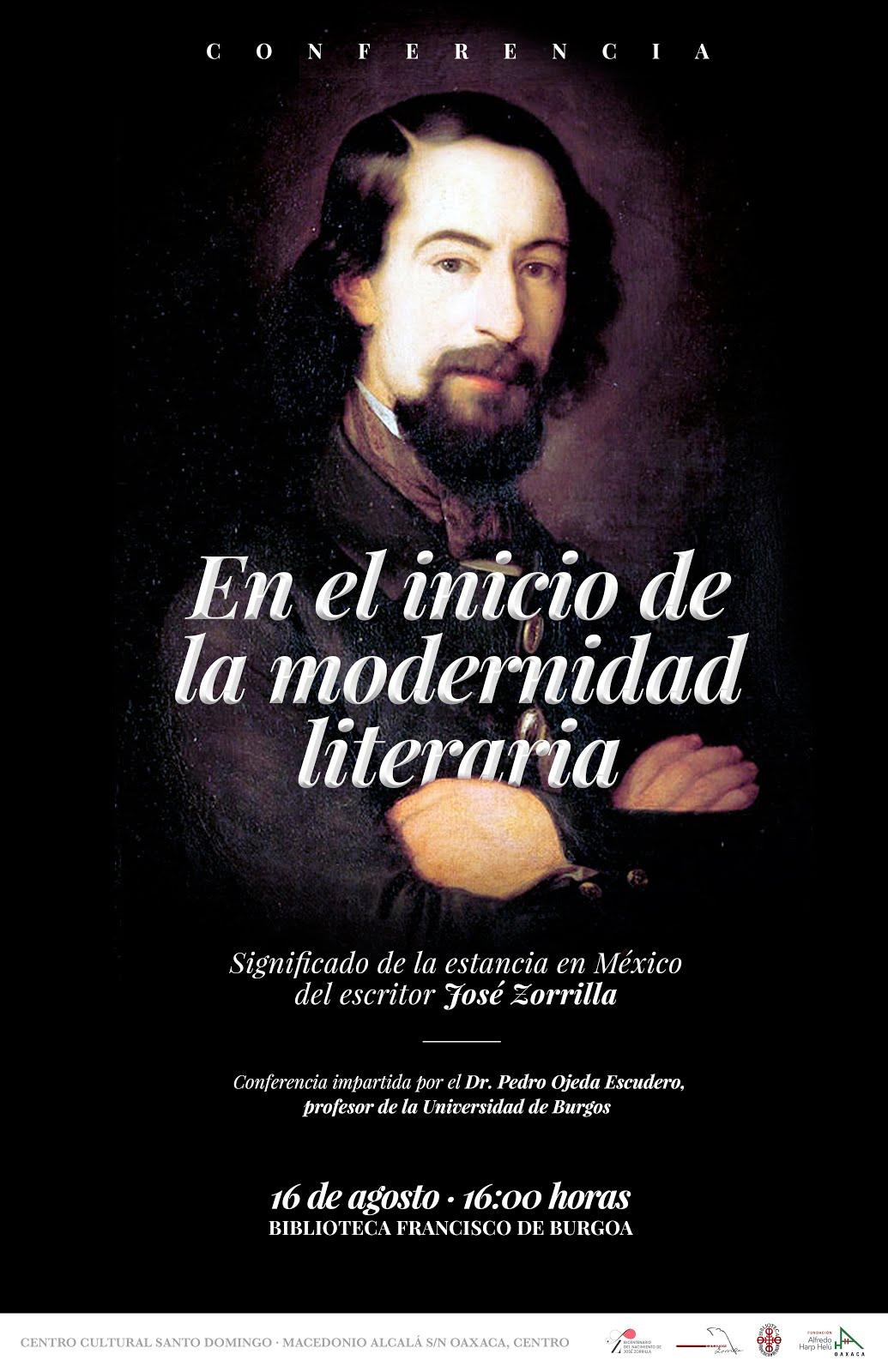 El 16 de agosto imparto una conferencia en Oaxaca