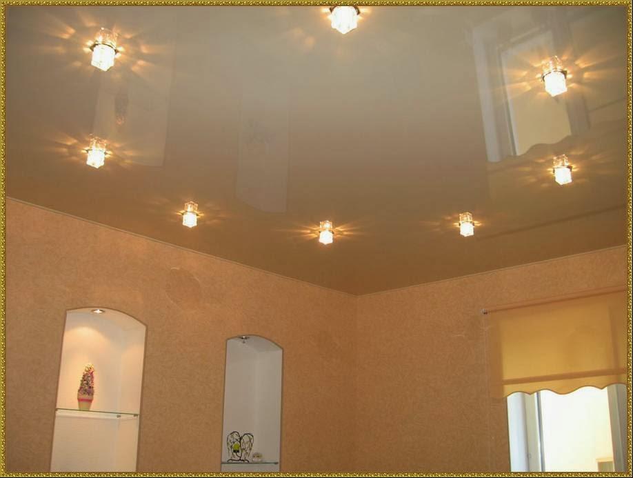 Точечные светильники для потолков фото