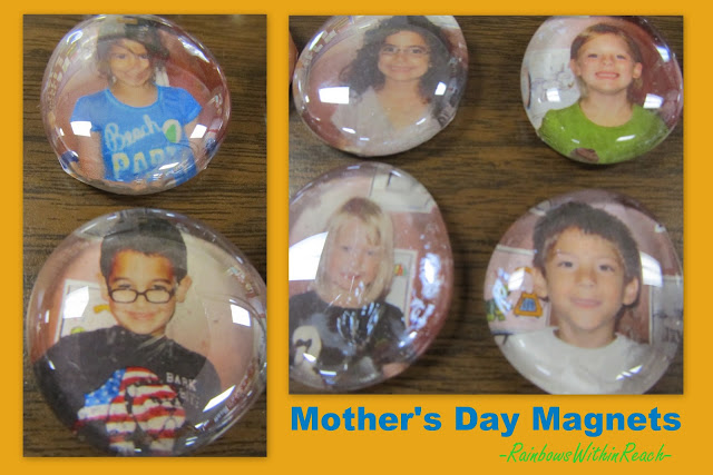 Mother's Day Gift Photo Magnet #MothersDay