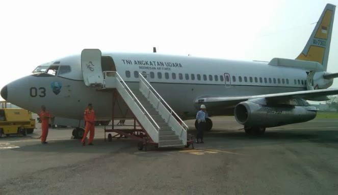 TNI AU Kerahkan Boeing 737-200 Cari Malaysia Airlines yang Hilang