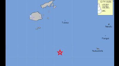 sismo 7,3 grados islas Fiji 16 de Septiembre 2011