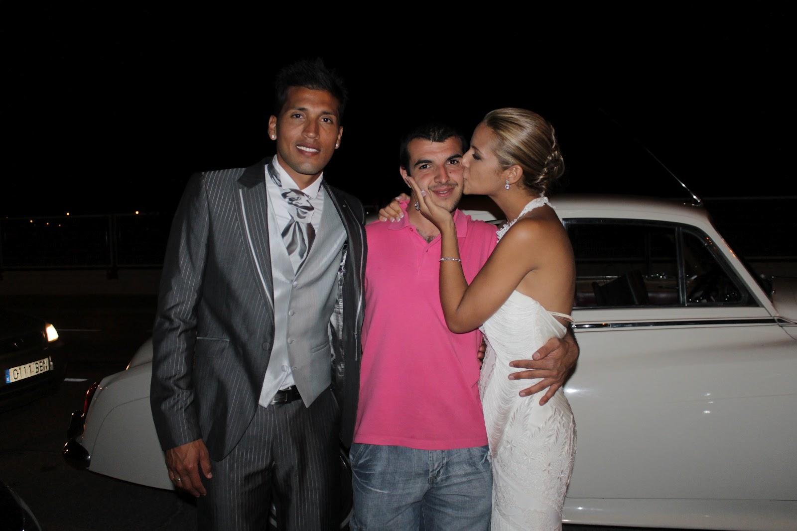 Daniel Fotos Con Famosos Boda Tamara Gorro y Ezequiel Garay