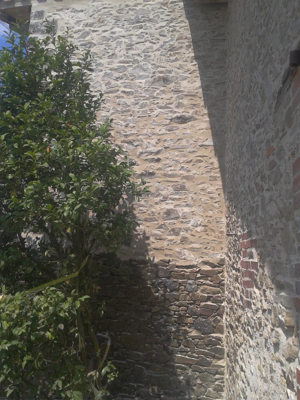 La grange de la boisseli re enduit sur un mur ext rieur for Enduit sur mur exterieur