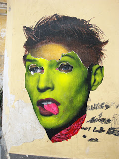 Paste Up Neon Green