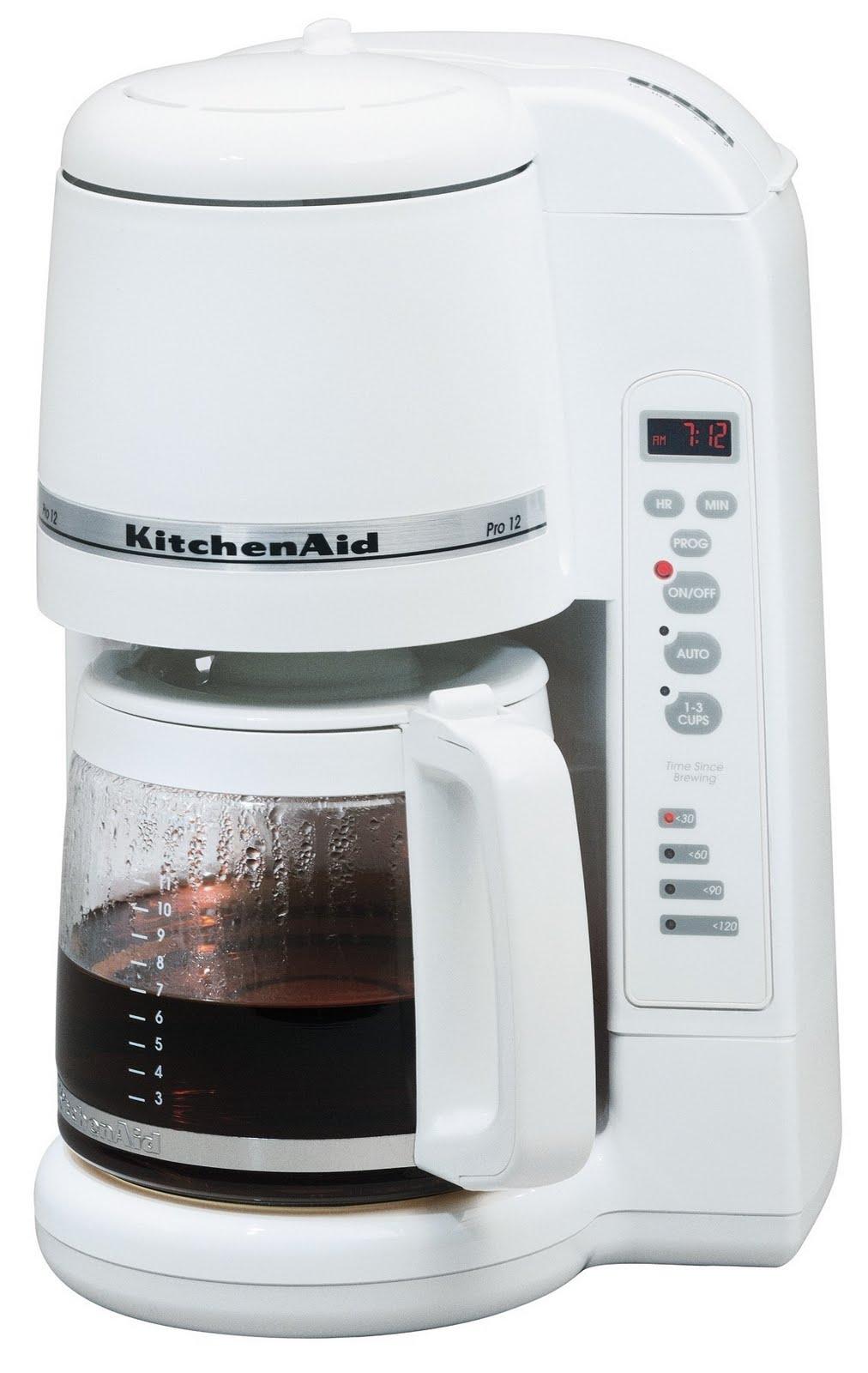 Coffee Maker Design Problem : Problems With Kitchenaid Coffee MakerMy Favorite Czech Recipes