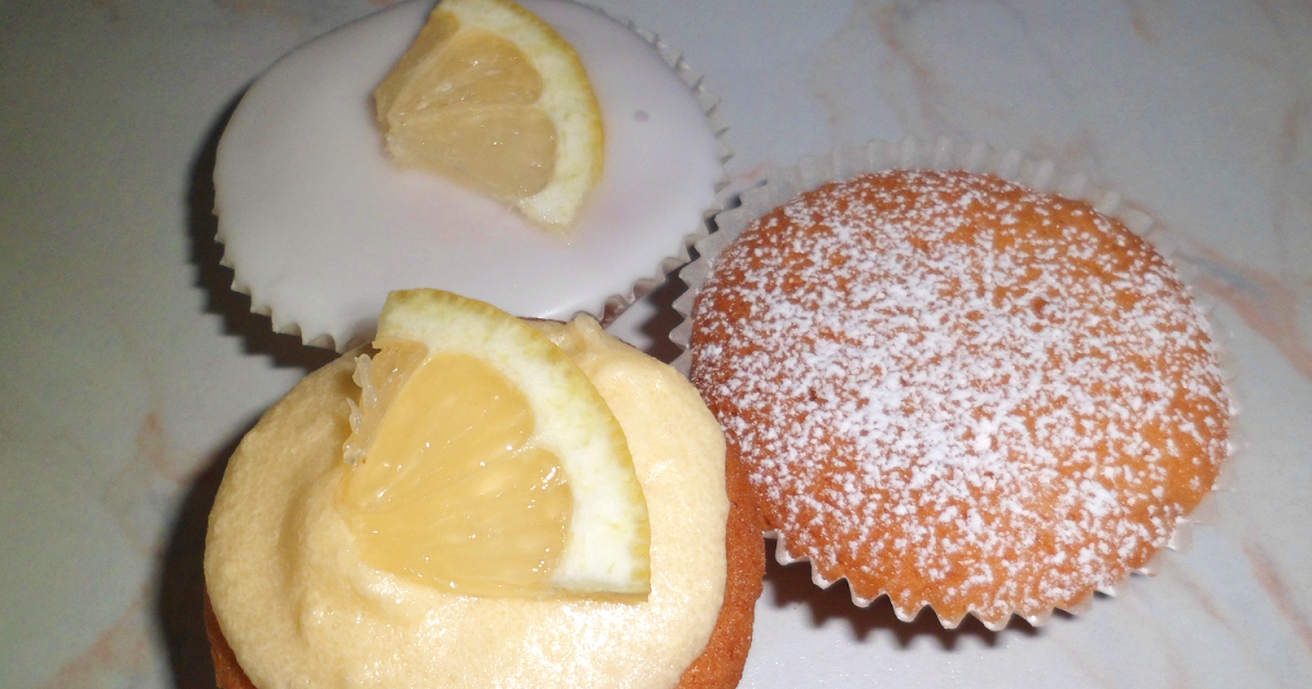 Lemon Fairy Cakes With Plain Flour