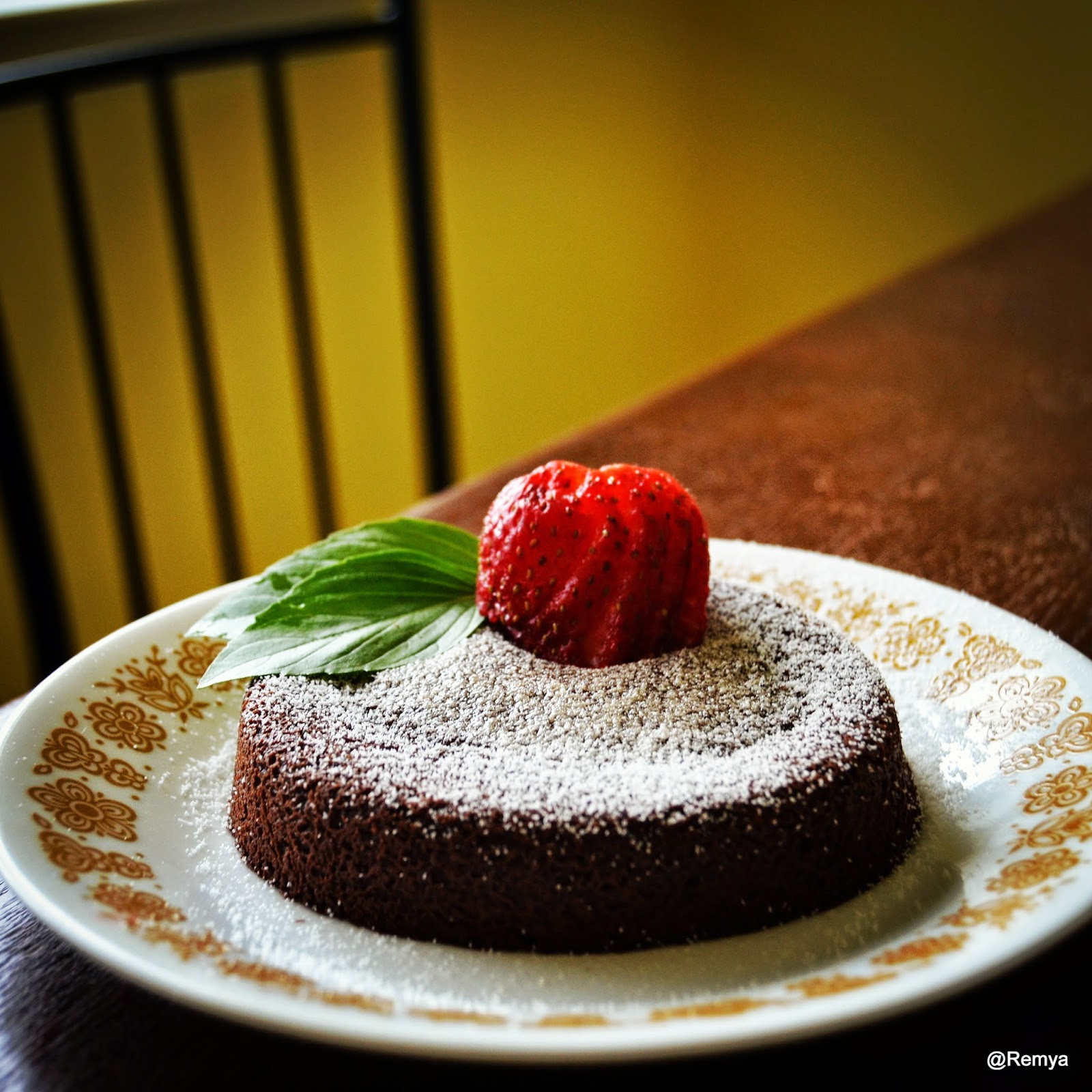Chocolate Molten Lava Cake Dc