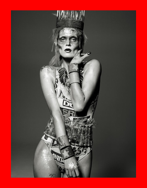 Malgosia Bela by Aaron Ward for Let's Panic Magazine No.1