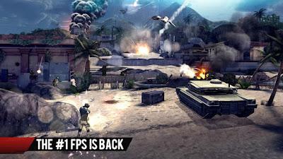 Download Modern Combat 4 Zero Hour V.1.2.0f MOD APK + DATA