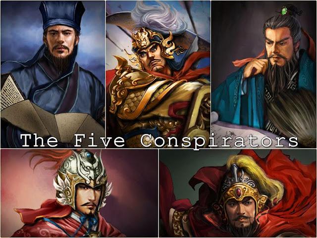 อ้ายเหล่าร้ายห้าคน The Five Conspirators