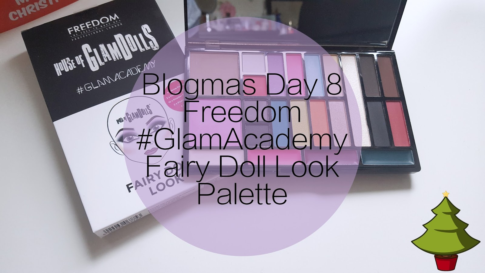 #Blogmas Day 8 Review | Freedom London Fairy Doll Palette*