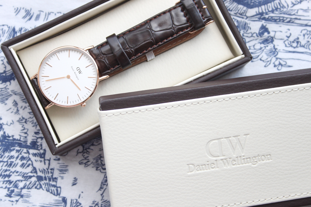 Daniel Wellington Classic York Lady Rose Gold Watch