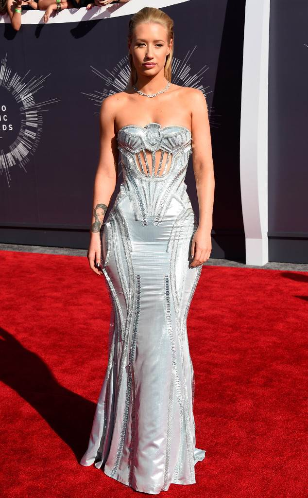 Iggy Azalea in Versace at the 2014 VMA