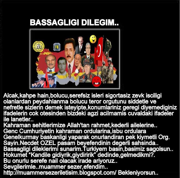 BASSAGLIGI MESAJIMIZ.ARZ EDER,SAYGILAR SUNARIM.BUKET TURKAY,SECRETARYSHIP