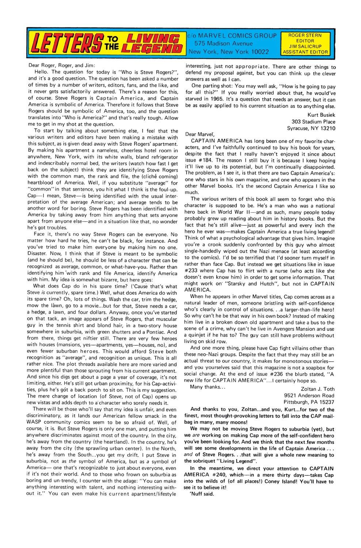 Captain America (1968) Issue #239 #154 - English 19