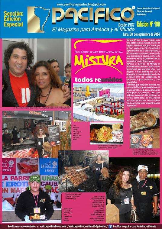 Revista Pacífico Nº 190 Edición Especial Mistura