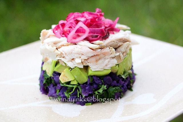 Table for 2.... or more: Fresh Tuna Purple Potato Salad