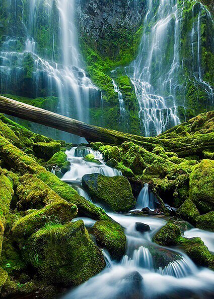 Proxy falls in oregon