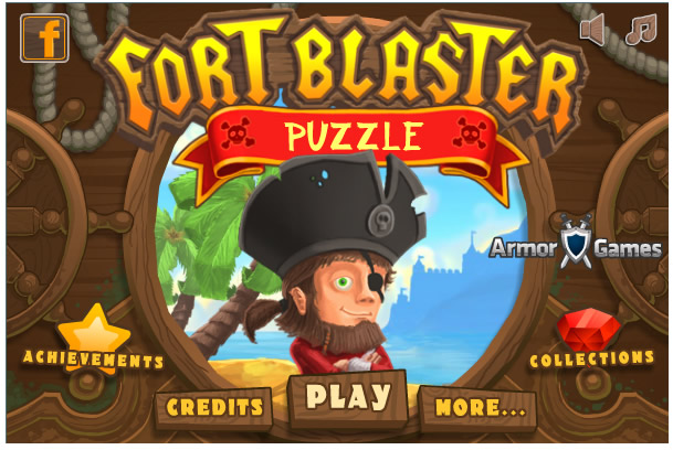 Armor Game : Fort Blaster Puzzle