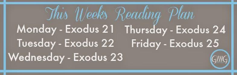 Exodus Reading Plan