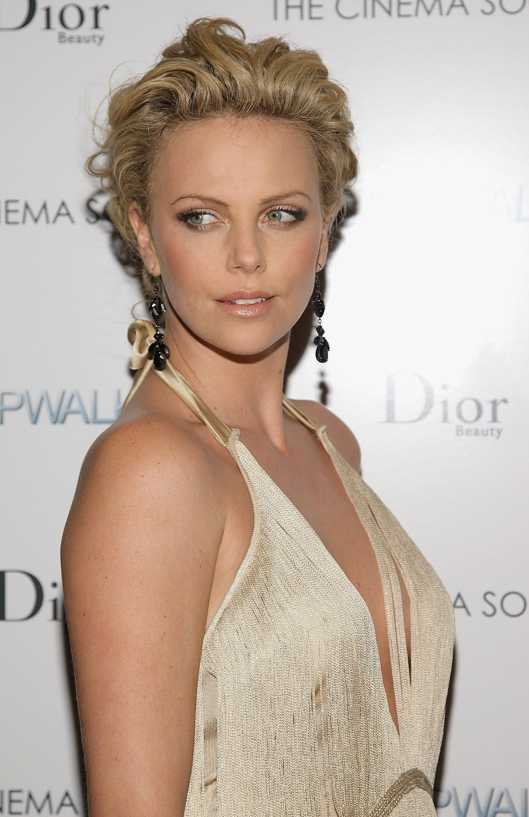 CHARLIZE THERON at Bombshell Special Screening in West