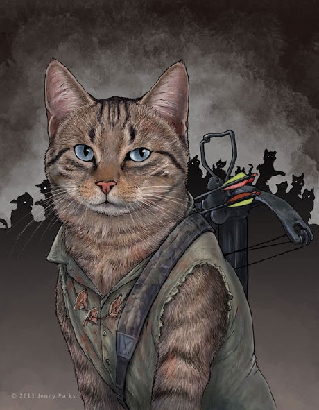 Daryl DixonCat