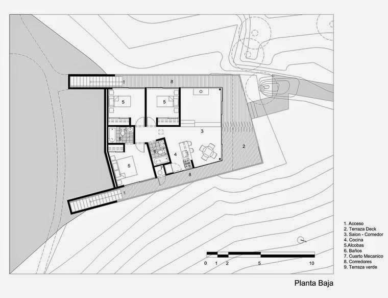 Arquitectura De Casas Casa Moderna De Campo Refugio