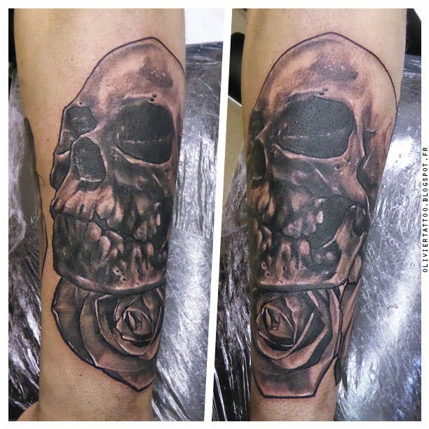 olivier-poinsignon-tatouage-realistes-skull-crane-amazing-tattoo