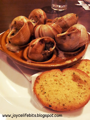 memphis escargot garlic butter
