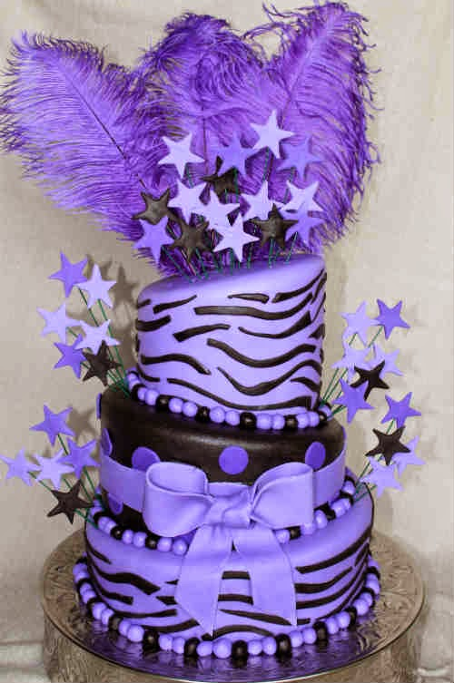 Cake Designs With Purple : Cute and cool birthday cake designs Creative things