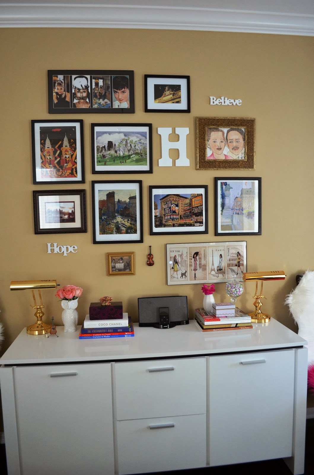 Home Office Wall Gallery
