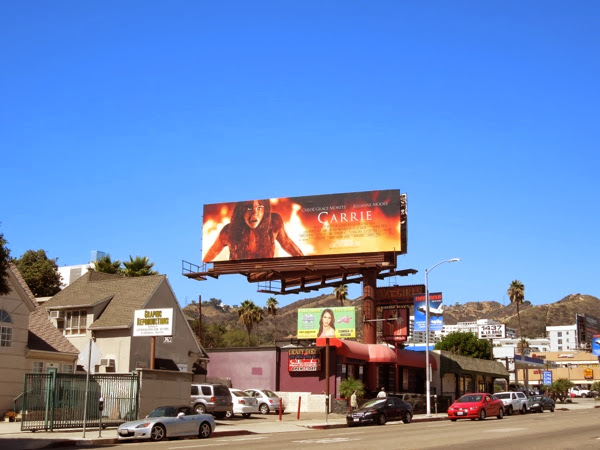 Carrie 2013 remake billboard