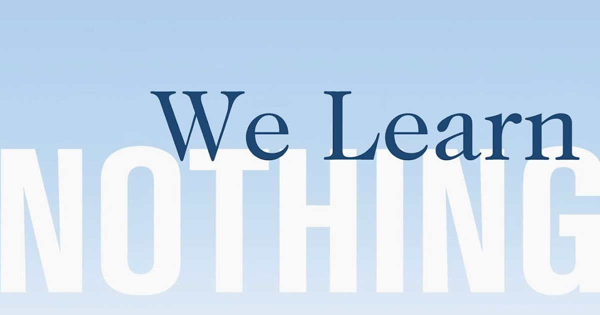 WE LEARN NOTHING by Tim Kreider , Tim Kreider | Kirkus Reviews