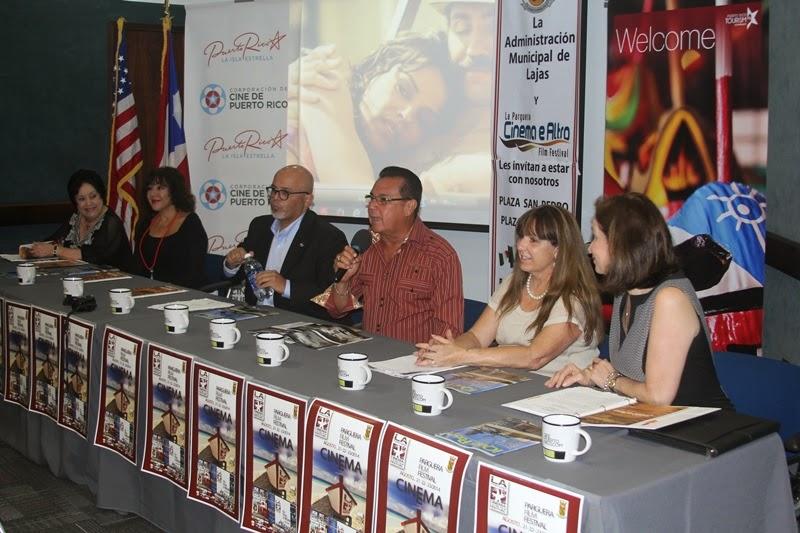 Conferencia de prensa para anunciar el festival de cine for Cuarto piso pelicula