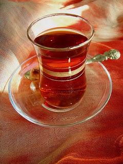 dišeča mešanica čajev │ udobno zvit na balkonu sanjam │ vonj itake
