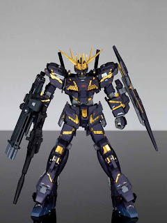 HG 1/144 Unicorn Gundam Banshee conversion build