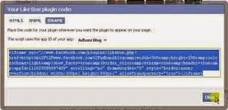 Cara Membuat Facebook Like Box Di Blog / Website