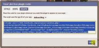 Cara Membuat Facebook Like Box Di Blog / Website