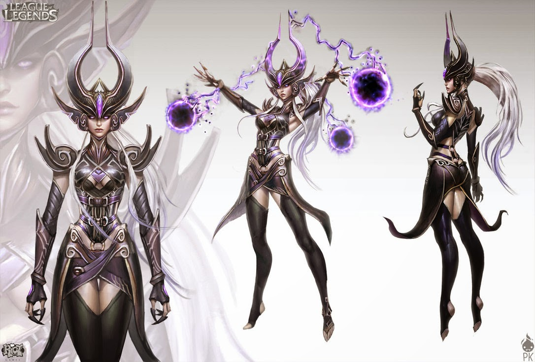 Character Design League Of Legends : Syndra league of legends bracers and shoulder pauldrons