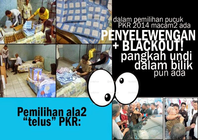 Video Dan Gambar Pergaduhan Pemilihan PKR