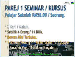 PAKEJ SEMINAR / KURSUS